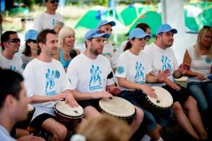 Киевстар, тимбилдинг, барабанный тренинг, командообразование, event