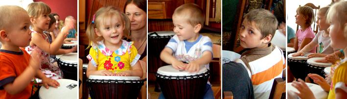 Детский дом, барабанный круг